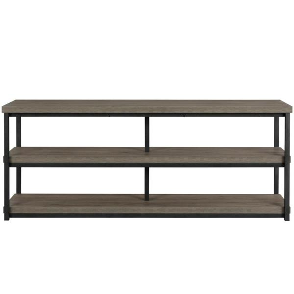 Ameriwood Yellowstone Rustic Oak 65 in. TV Stand