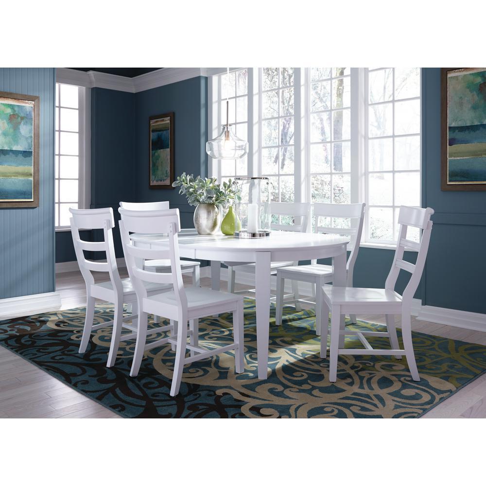 Pure White Lilliana Chair (Set of 2)