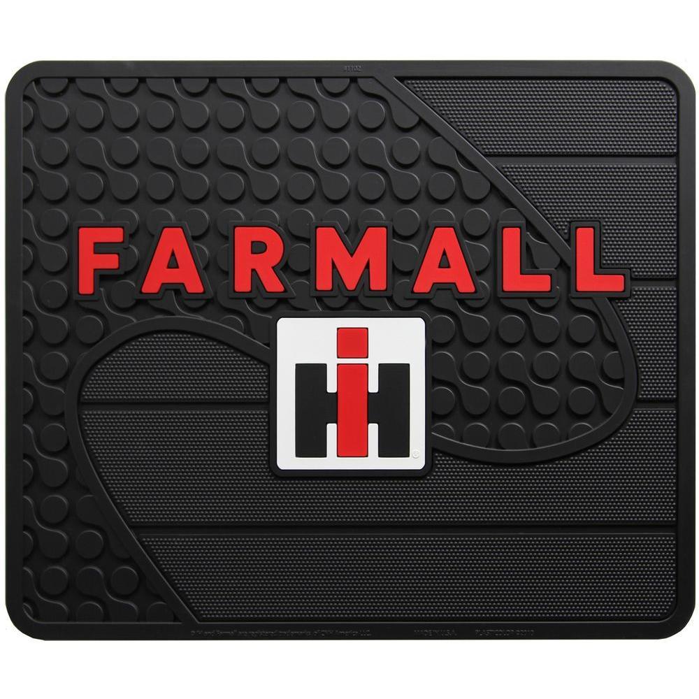 Farmall Heavy Duty Vinyl 17 in. x 14 in. Utility Car Mat