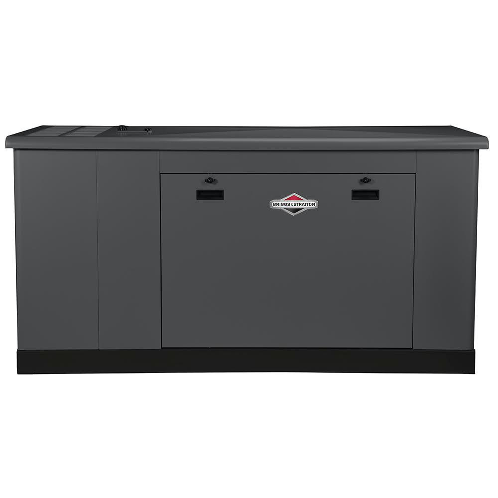 Briggs Stratton Standby Generators The Home Depot Kw 50 Amp Single Phase 120 240 V Generator With 10 Circuit 35000 Watt Liquid Cooled