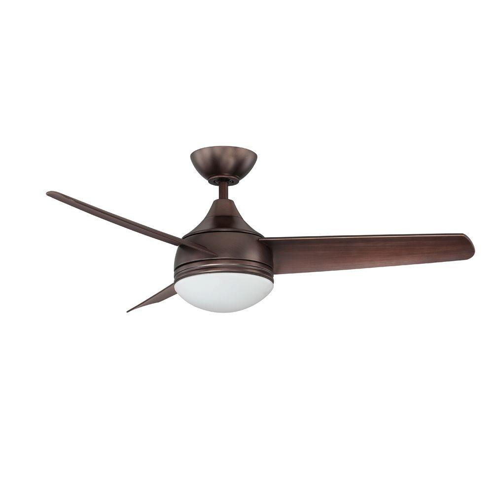 Designers Choice Collection Moderno 42 In Oil Brushed Bronze Ceiling Fan