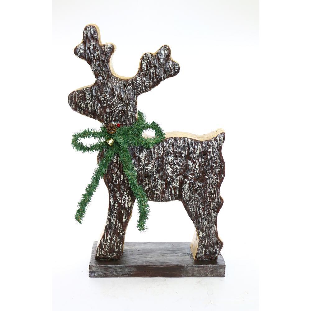 christmas reindeer statue - Christmas Reindeer