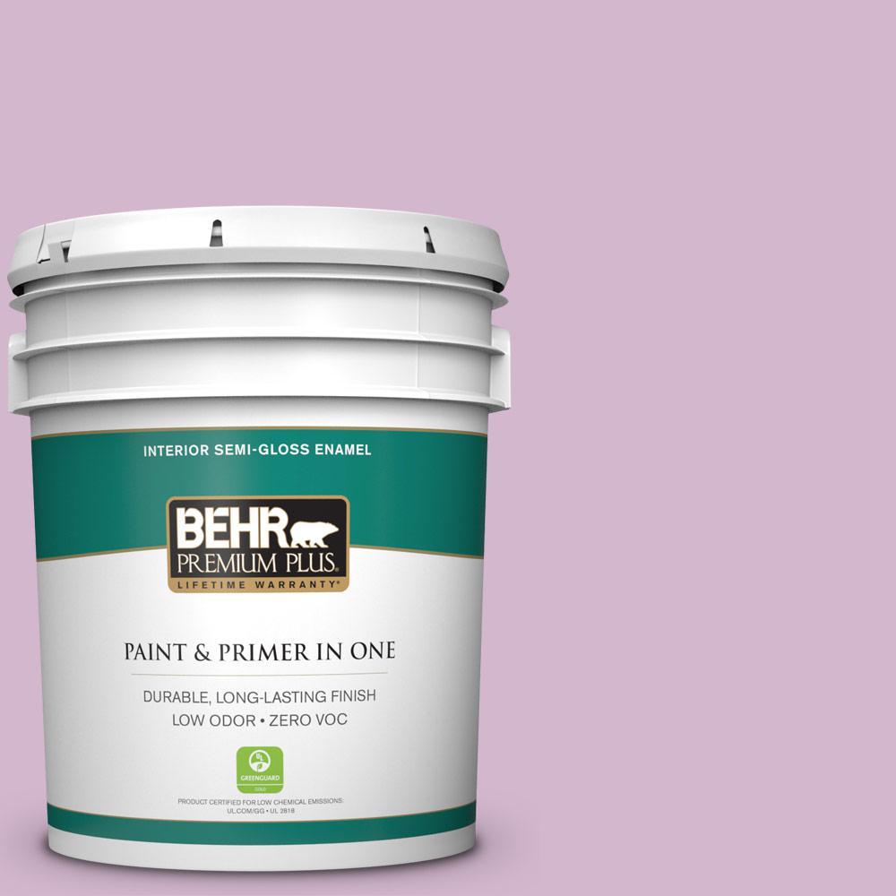 BEHR Premium Plus 5-gal. #M110-3 Bedazzled Semi-Gloss Enamel Interior Paint