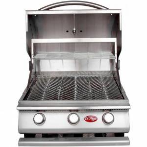 Cal flame gourmet series 3 burner built in stainless steel propane gas grill bbq09g03 the home - Home depot bbq propane ...