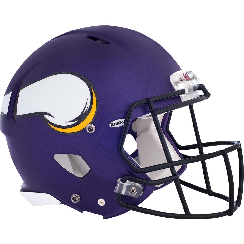 42 in. H x 56 in. W Minnesota Vikings Helmet Wall Mural