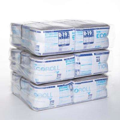 R-19 Kraft Faced Fiberglass Insulation Roll 15 in. x 39.16 ft. (18-Rolls)
