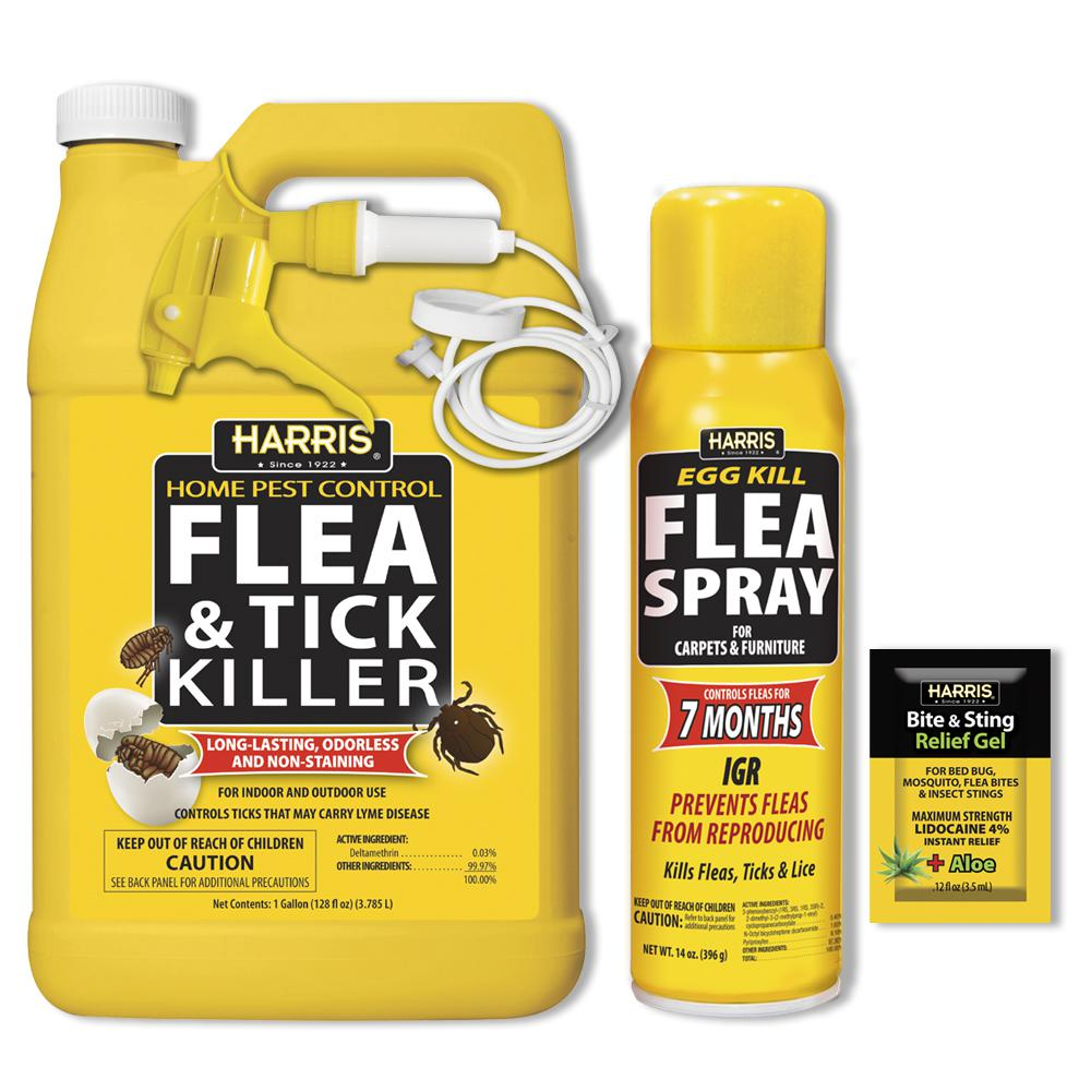 Harris 7Month Flea and Tick Killer KitFLEA128KIT The Home Depot