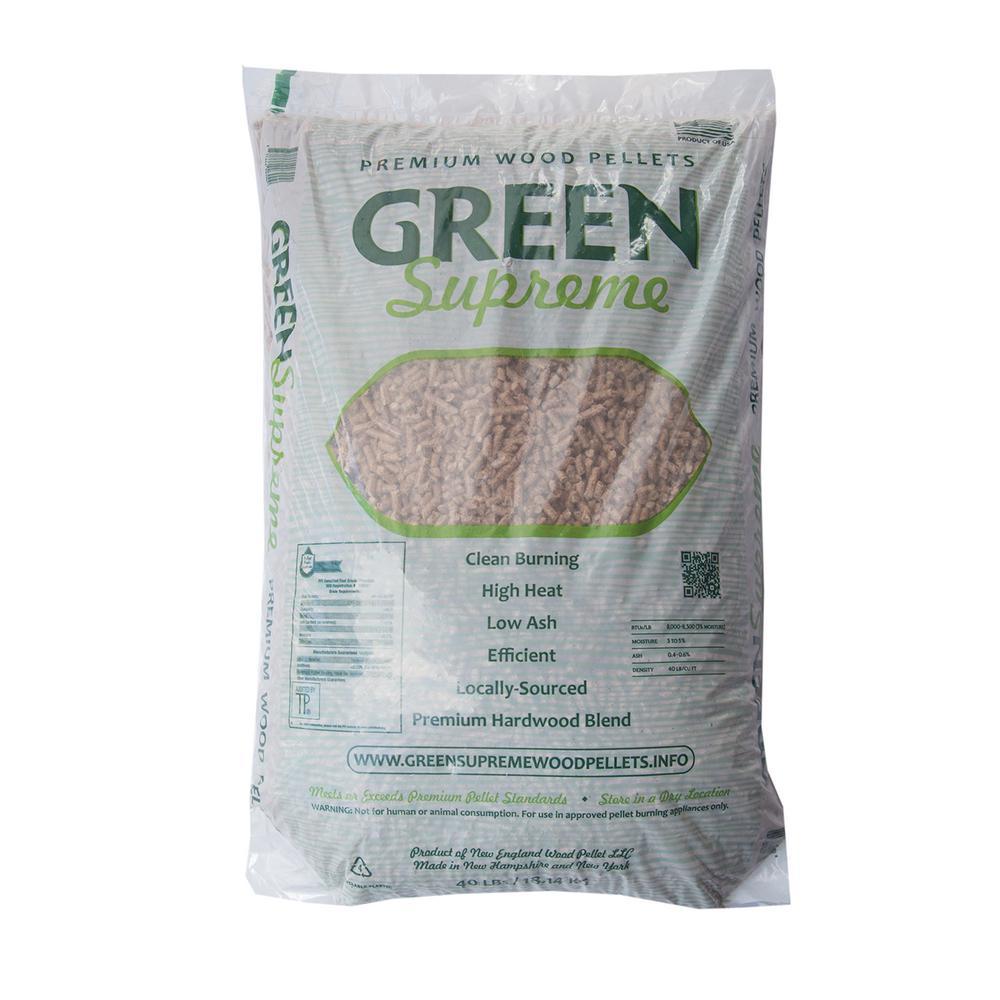 Home Depot Wood Pellets ~ Green supreme midwestern hardwood wood pellet fuel fg