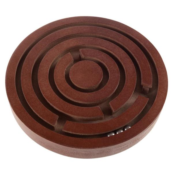 Classic Wooden Tabletop Labyrinth Game