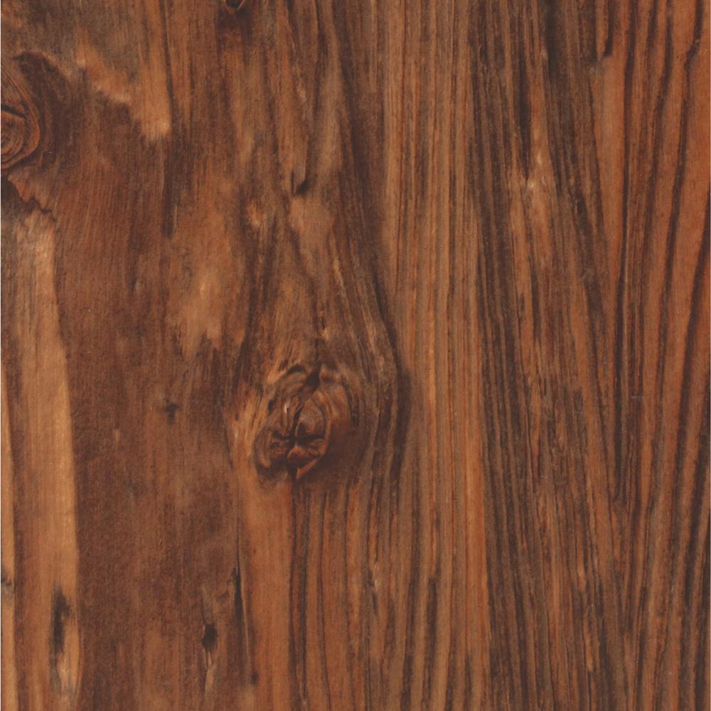 TrafficMASTER Allure 6 in x 36 in African Wood Dark Luxury Vinyl