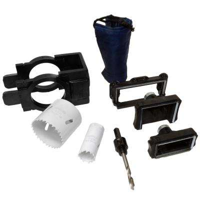 Industrial Ultimate Bi-Metal Door Lock and Deadbolt Installation Kit for Wood and Metal Doors