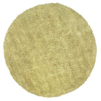 Ultimate Shag Seafoam Green 8 ft. Round Area Rug