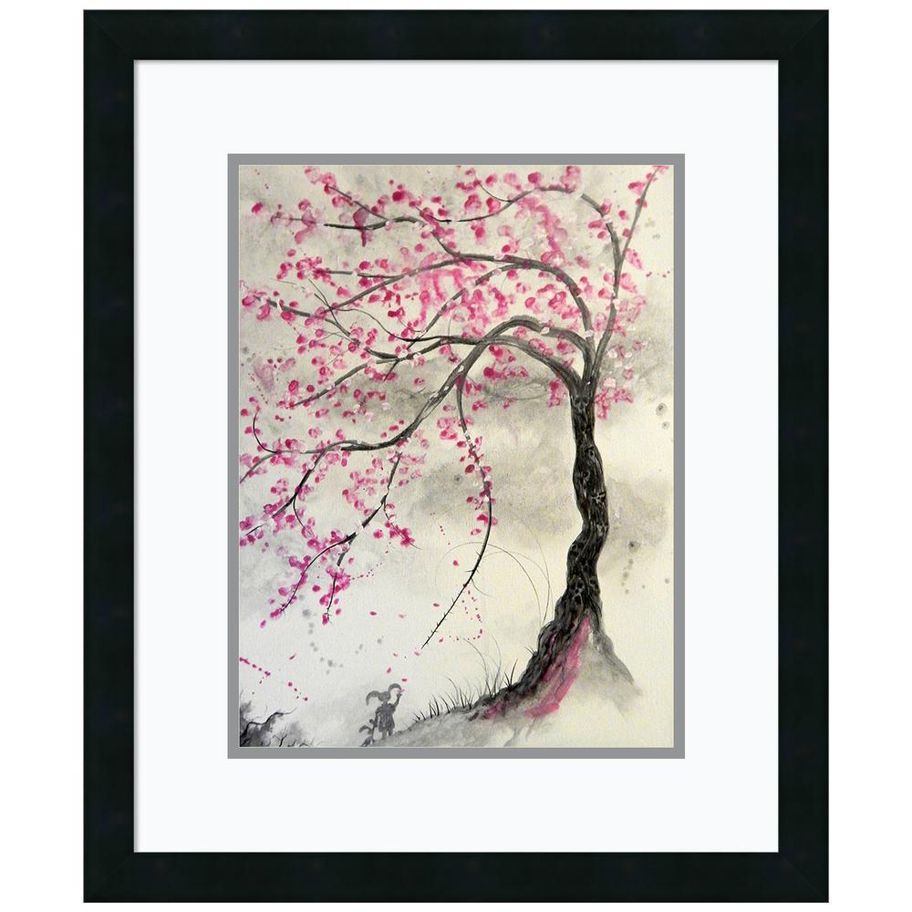 Amanti Art Cherry Blossom Tree by Ed Capeau Framed Print Wall