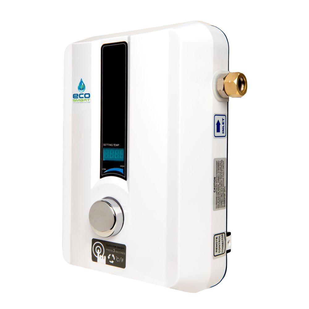 ecosmart 11 kw electric tankless water heatereco 11 the home depot