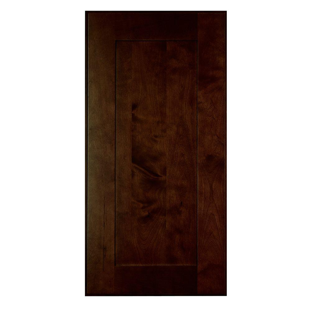 Home Decorators Collection Franklin Assembled 24 x 34.5 x .75 in. Franklin Matching Base End Panel in Manganite Glaze