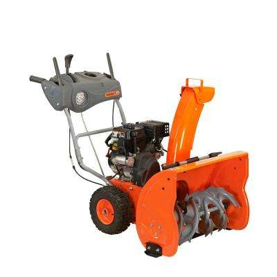 26 in. Two-Stage Electric Start Gas Snow Blower with Headlight