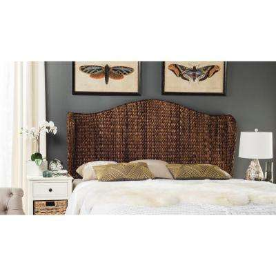 Nadine Brown Full Headboard