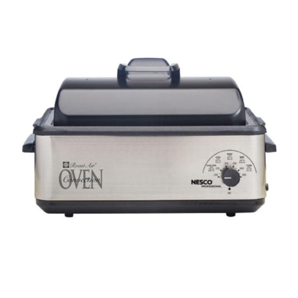 Nesco Professional 12-qt. Roaster/Convection Oven, Stainless Steel-DISCONTINUED