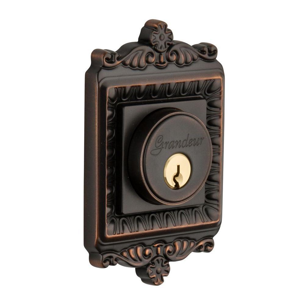 Nostalgic Warehouse Windsor Timeless Bronze Double Cylinder Deadbolt - Keyed Alike