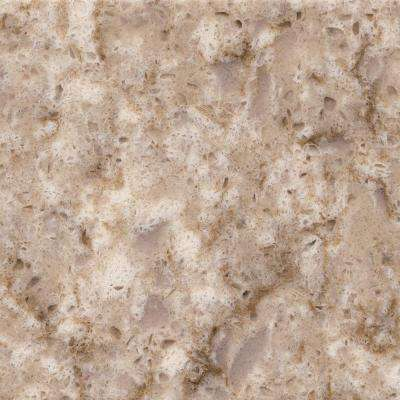 2 in. x 4 in. Quartz Countertop Sample in Quasar