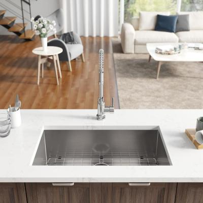 Undermount Stainless Steel 32 in. Single Bowl Kitchen Sink