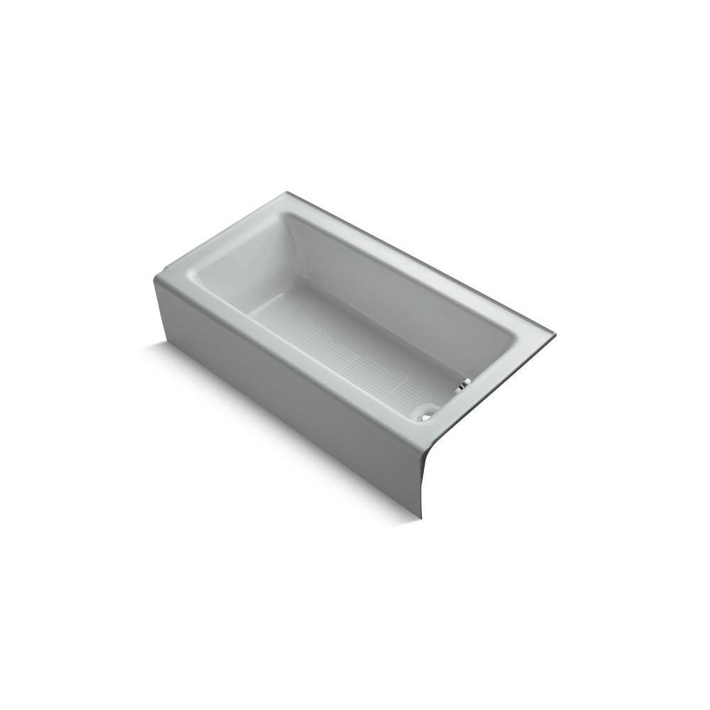 KOHLER Bellwether 5 ft. Bathtub in Ice Grey-DISCONTINUED
