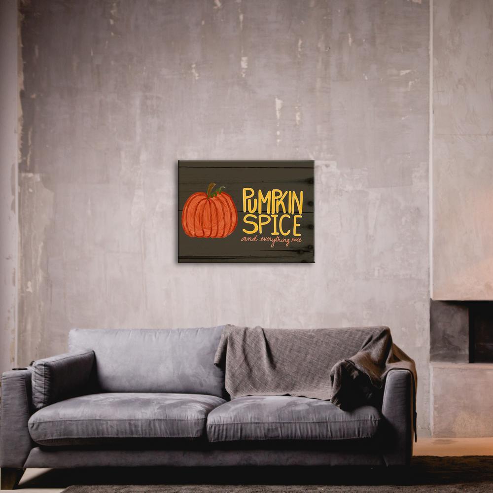 """Pumpkin Spice"" by Katie Doucette Unframed Wall Art"