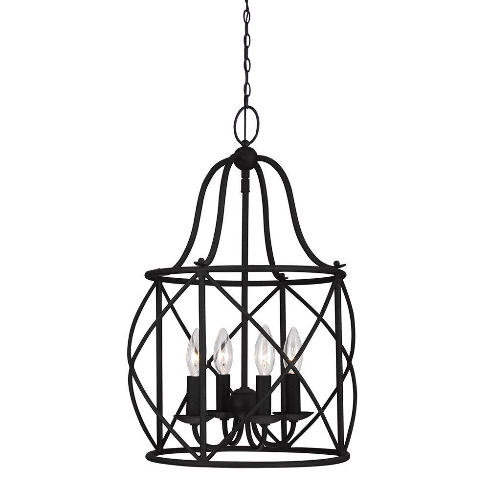 seagull pendant lighting. Sea Gull Lighting Turbinio 4-Light Blacksmith Hall/Foyer Pendant Seagull