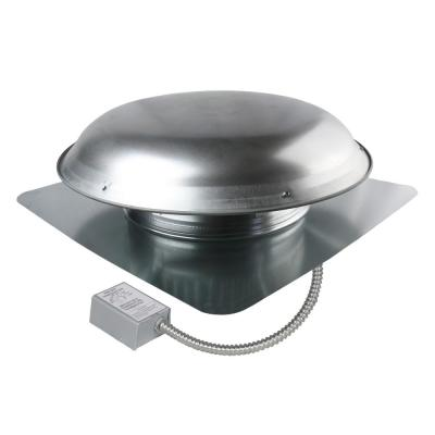 1080 CFM Mill Galvanized Steel Electric Powered Attic Fan with Adjustable Thermostat