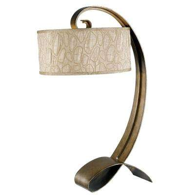 Remy 31 in. Smoked Bronze Table Lamp