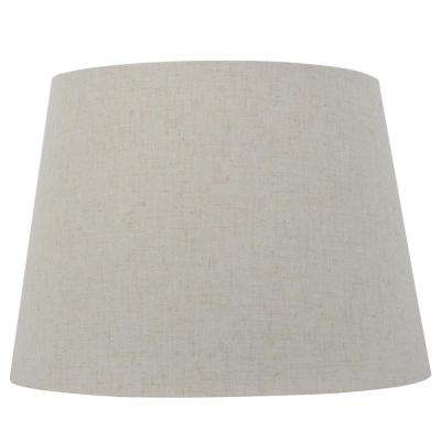 c34bd78f788 Dia x 10 in. H Oatmeal Round Table Lamp