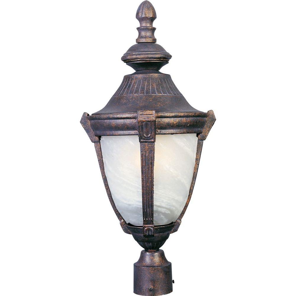 Maxim Lighting Wakefield Cast 1-Light Outdoor Pole/Post Lantern