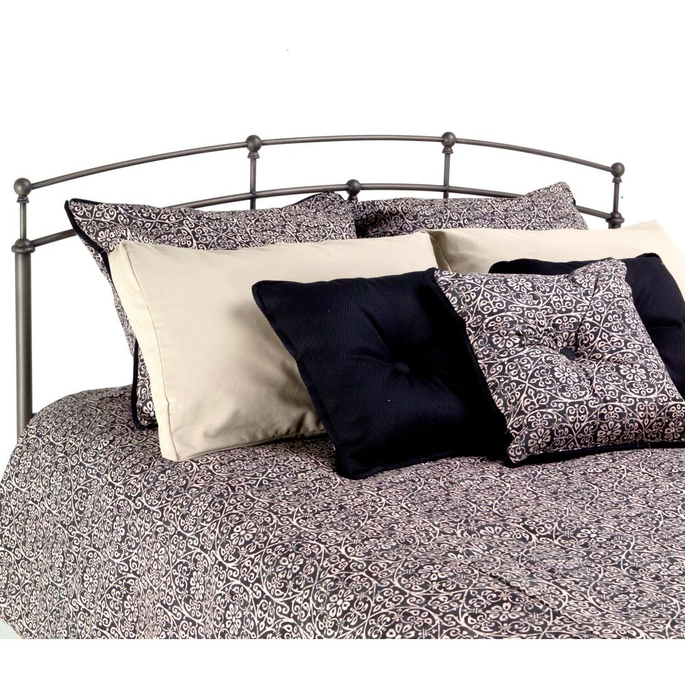 Fashion Bed Group Fenton Queen-Size Metal Headboard Panel with Globe ...