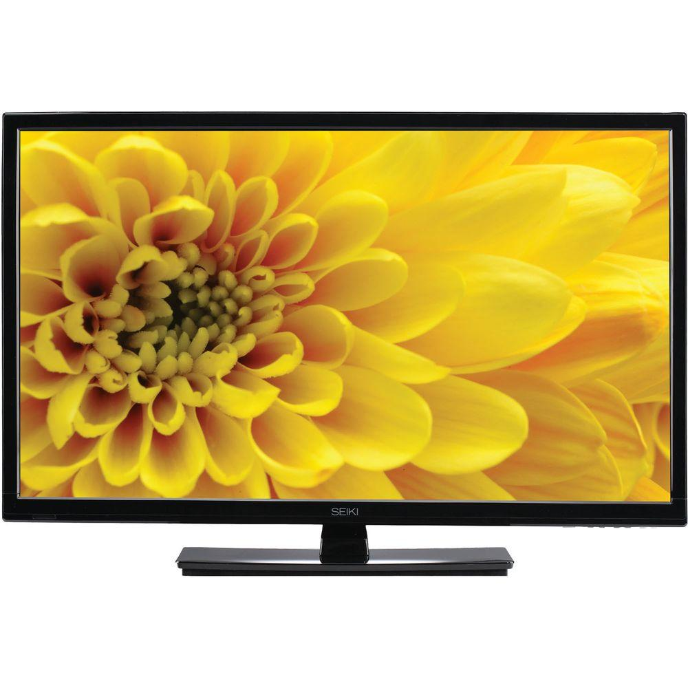 SEIKI 24 in. Class LED 1080p 60Hz HDTV with Built-In DVD Player Combo