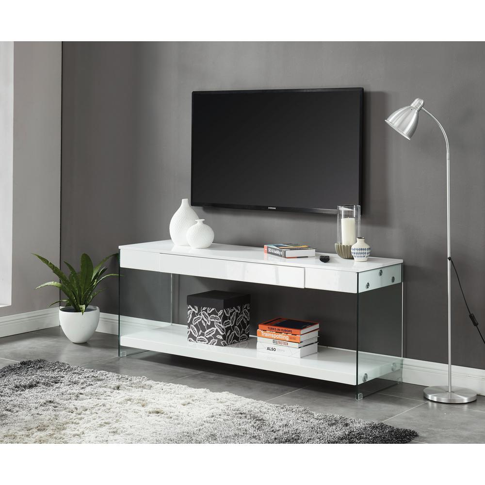 Furniture Of America Jubilee White 70 In Tv Stand Idf 5206wh Tv70