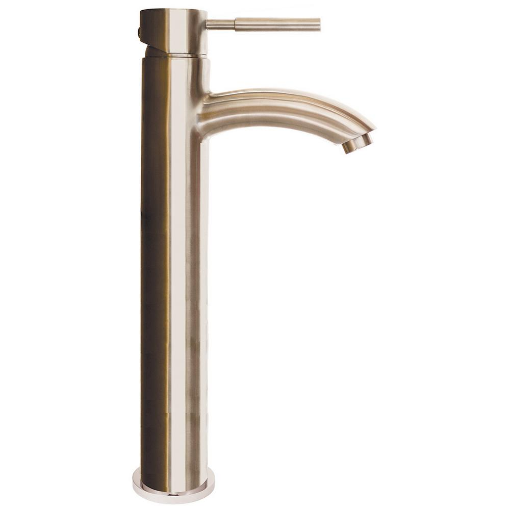 Speakman Neo Single Hole Single-Handle Bathroom Faucet with Drain Assembly in Brushed Nickel