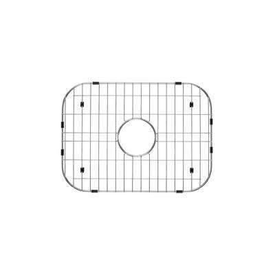 Single Bowl Kitchen Sink Grid in Brushed Stainless Steel
