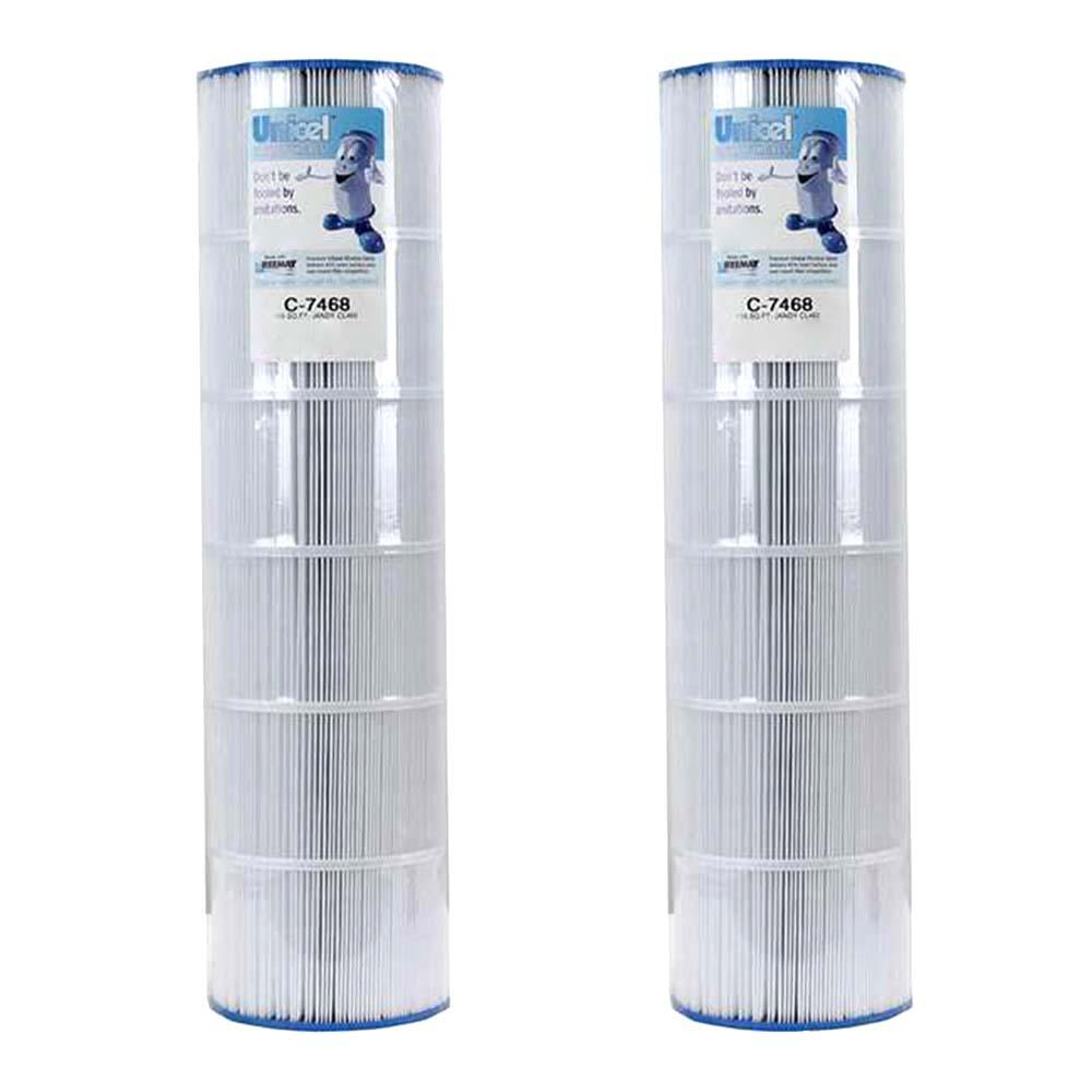 Unicel 7.13 in. Dia Swimming Pool Replacement Cartridge Filter (2-Pack)