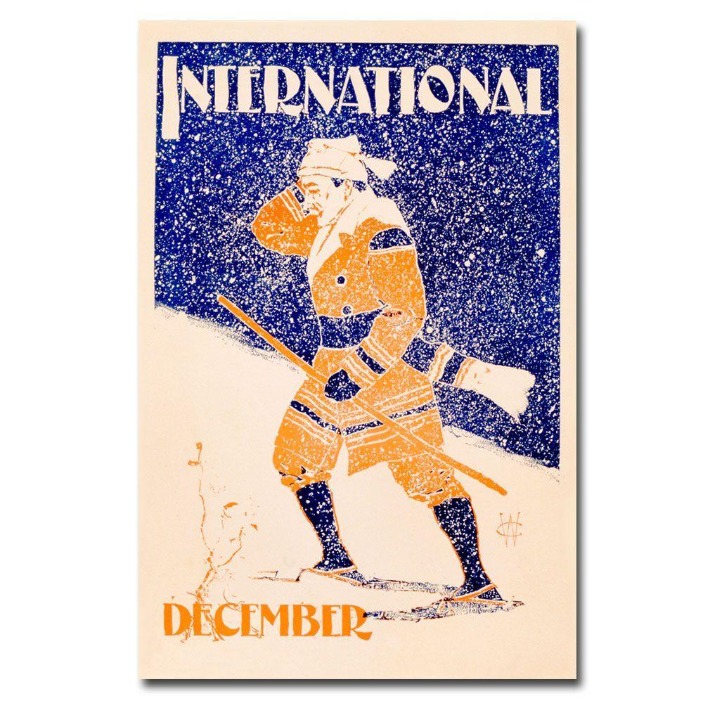 22 in. x 32 in. International Magazine December Issue 1898 Canvas