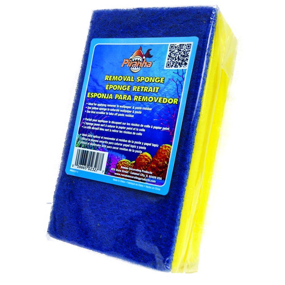 Piranha Paste Removal Sponge