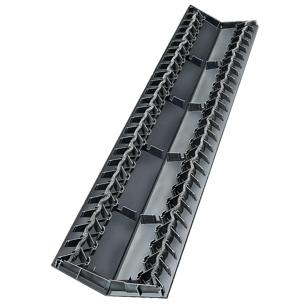 Builders Edge 11 in. x 48 in. Ridge Vent Plus (10-Pieces / Box)