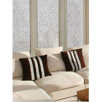 11.8 in. x 78.74 in. Mosaic Sidelight Privacy Window Film