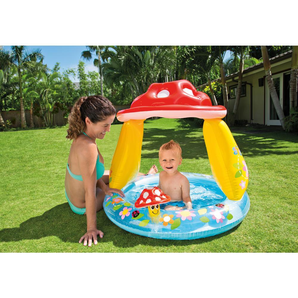 Mushroom Inflatable Baby Shade Pool