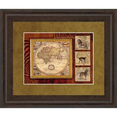 "34 in. x 40 in. ""Journey To Africa II"" by Tava Studio Framed Printed Wall Art"