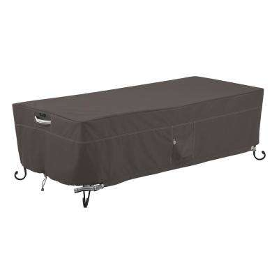 Ravenna 60 in. Rectangular Fire Pit Table Cover