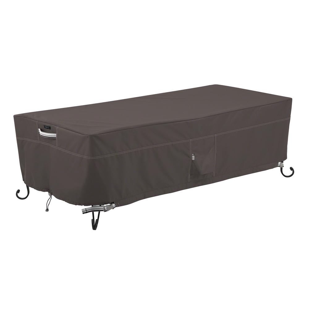 Classic Accessories Ravenna 60 In. Rectangular Fire Pit Table Cover