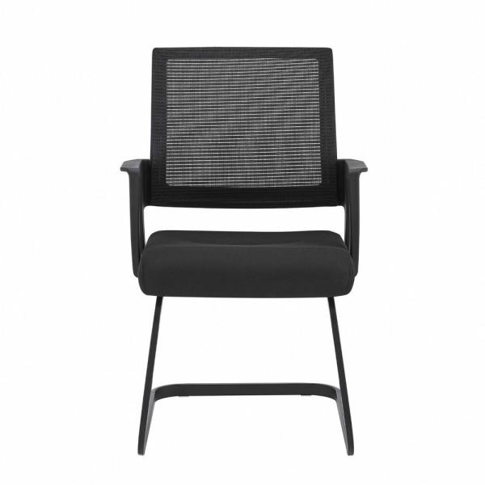 Amelia Black Korean Mesh Back and Soft Seat Office/Desk Chair