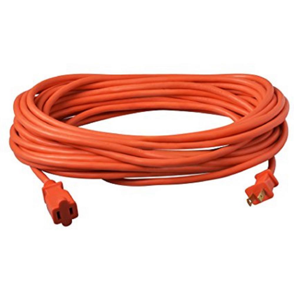 50 ft. 16/2 SJTW Outdoor Light-Duty Extension Cord, Orange