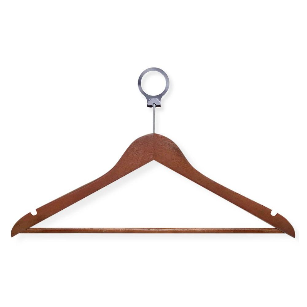 Honey Can Do Cherry Hotel Suit Hangers 24 Pack
