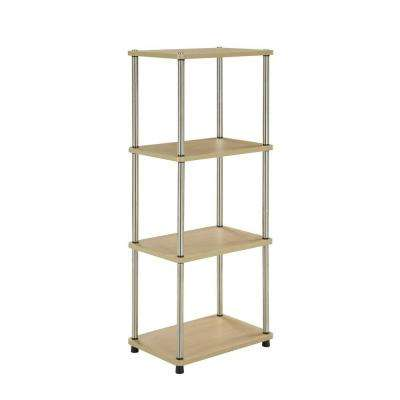 Designs2go 4 Tier Natural Audio Tower